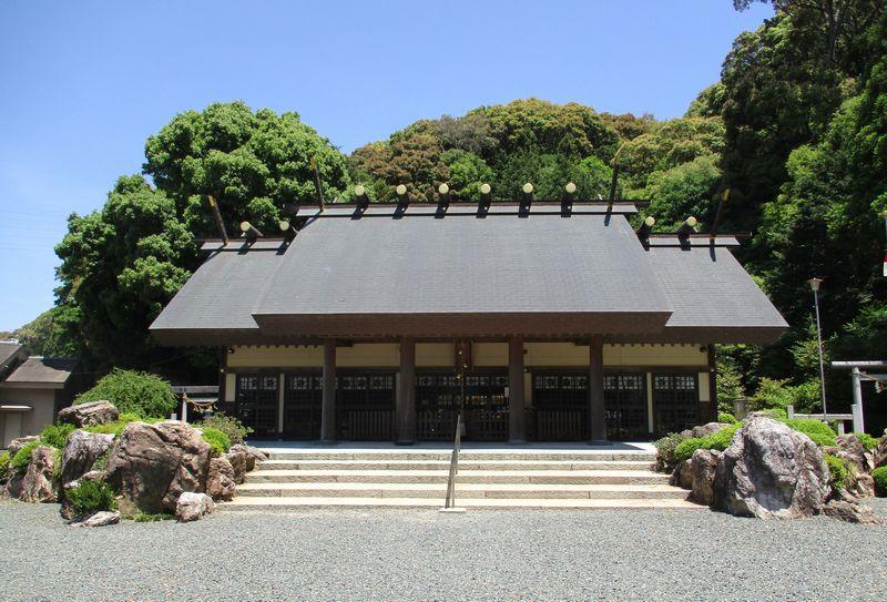 濱名惣社神明宮(英多神社)~倭姫が巡幸した元伊勢