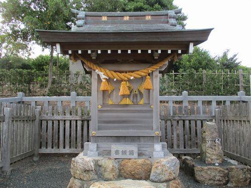 橘逸勢神社(浜松市三ヶ日)~平安時代の三筆の一人を祀る神社
