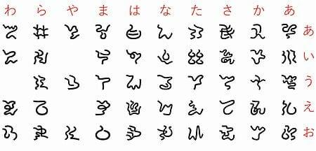 神代文字「阿比留草文字」がビジョンに現れた:最近は龍体文字も登場~各人の霊系によって文字に違いがある?