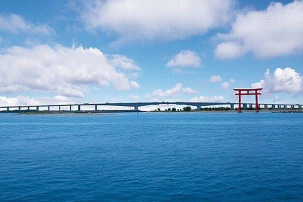 幻の浜名橋と角避比古神社〜明応地震(室町時代の「南海トラフ地震」)で浜名湖に沈んだ大地