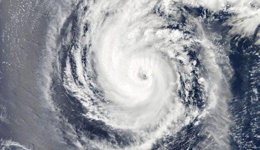 台風19号は伊豆半島に上陸~進路予想、大きさは?【2019年】