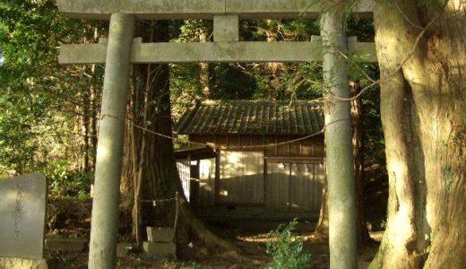 小國神社の奥宮「奥磐戸神社」(本宮山)〜神霊が降臨した聖地・霊地